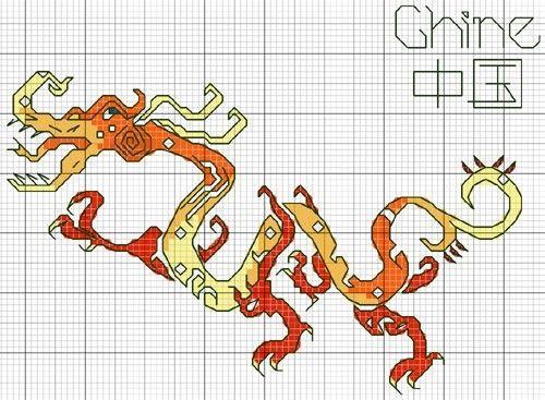 Dragon d'oranger
